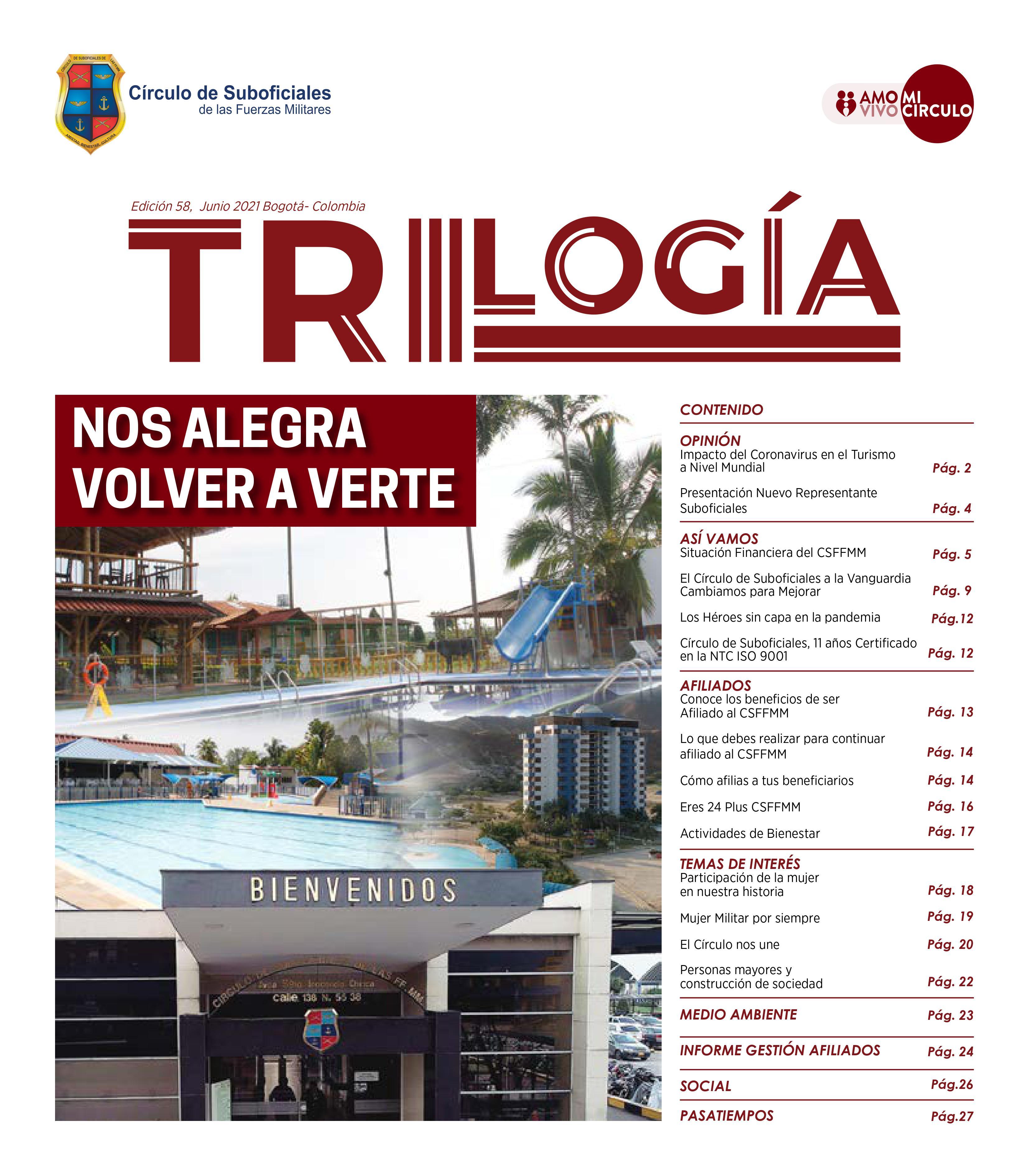 TRIOLOGÍA - EDICIÓN N. 58